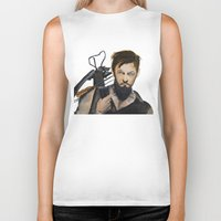 daryl dixon Biker Tanks featuring Daryl by Brittany Ketcham