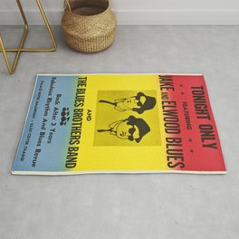 The Blues Brothers Classic Retro Movie Poster , Cult Posters in Different Sizes Rug