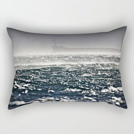 Ship in the storm Rectangular Pillow