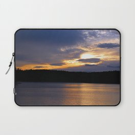 Sunset at Concord's Walden Pond 13 Laptop Sleeve