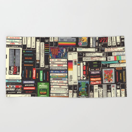 Cassettes, VHS & Games by hollisbrownthornton