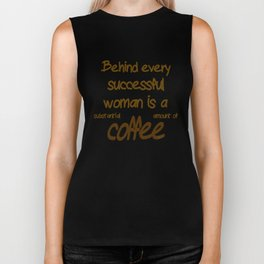 Behind Every Successful Woman Biker Tank