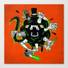 Monster Rumble! Canvas Print