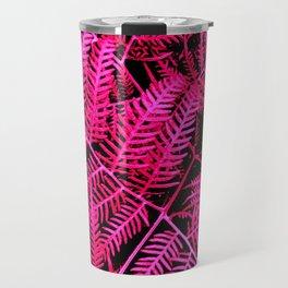 Pink Bracken Travel Mug