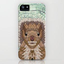 Ornate Squirrel iPhone Case