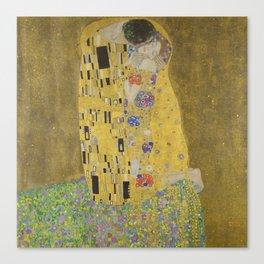 Gustav Klimt - The Kiss Canvas Print