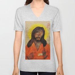 Jumpsuit Jesus Unisex V-Neck