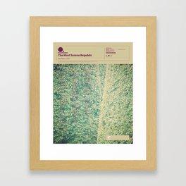The Visual Mixtape 2010 | Population | 20 / 25 Framed Art Print