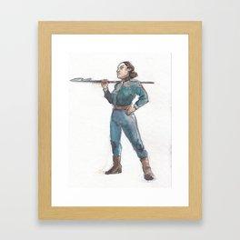 Harpoon Framed Art Print