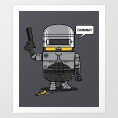 Despicable Law Enforcer Art Print