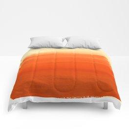Oranges No. 1 Comforters