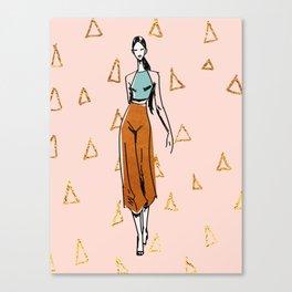 Fashion Boss Canvas Print