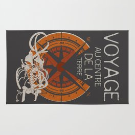Books Collection: Jules Verne Rug