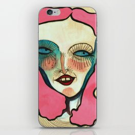 """""""A Very Colorful Woman"""" iPhone Skin"""