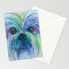 Shih Tzu Dreamy Focus Stationery Cards