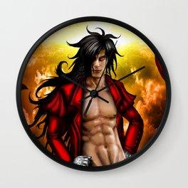 Alucard:Hellsing Wall Clock