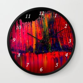 Red Brane S52 Wall Clock