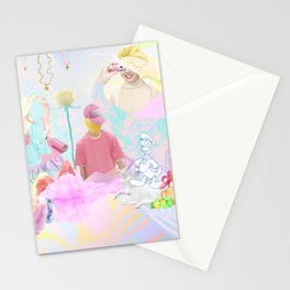 PINK RAVE Stationery Cards