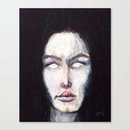 Scar Lip Canvas Print