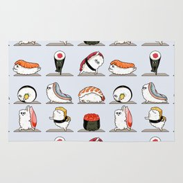 Sushi Yoga Rug