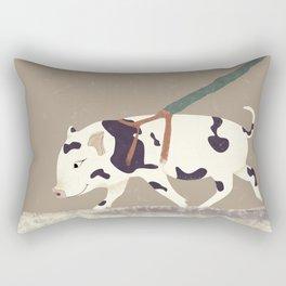 Baby Pig Original Design Rectangular Pillow