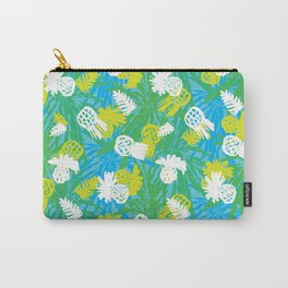 Tropical green pinapples Carry-All Pouch