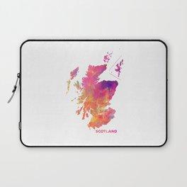 Scotland map #scotland #map Laptop Sleeve