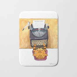 The Great Catsby. Bath Mat