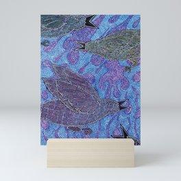 Crows in the Rain Mini Art Print