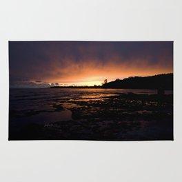 jjhelene Sunset at Lake Erie, Fort Erie, Ontario Canada Rug