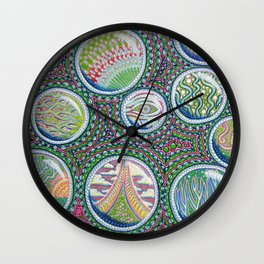 Many Worlds Wall Clock