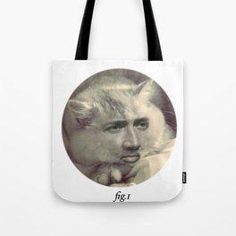 """fig.1"" grey Tote Bag"