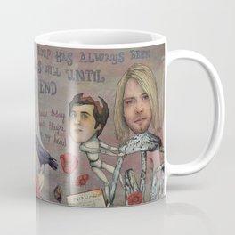 Nirvana - Light My Candles In A Daze Cause My Heart Shaped Box Is Broke Coffee Mug