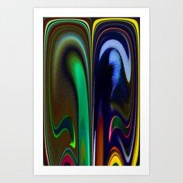 Different Cubicles Art Print