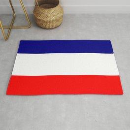 flag of france 4 Rug