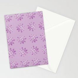Lavender pattern Stationery Cards