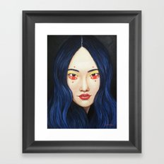 Close Up 9 Framed Art Print