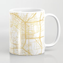 MILAN ITALY CITY STREET MAP ART Coffee Mug
