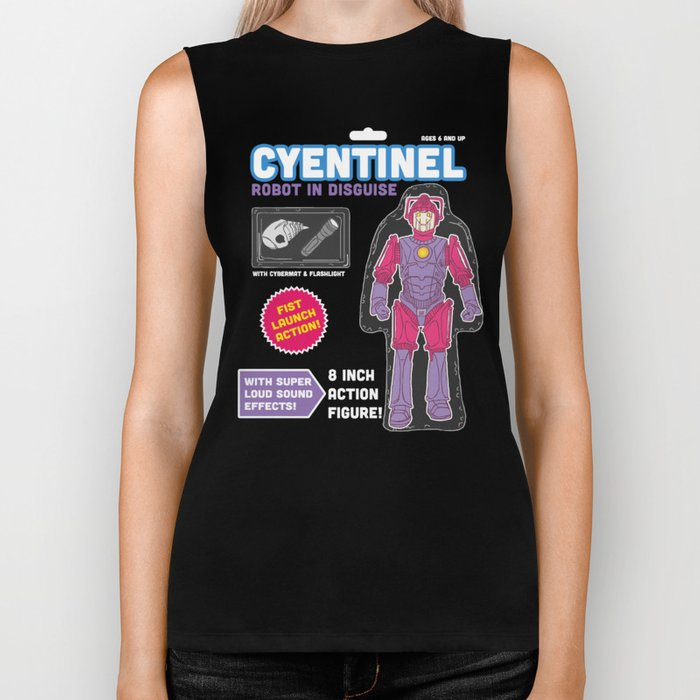 Cyentinel: Robot in Disguise  Biker Tank