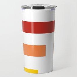 Colored lines #society6 #decor #buyart #artprint Travel Mug