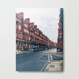 London Road Metal Print