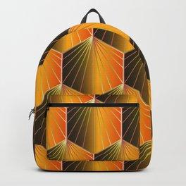 Glam Rock Orange Backpack