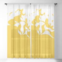 Fly Away Sheer Curtain
