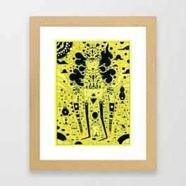 yello world Framed Art Print