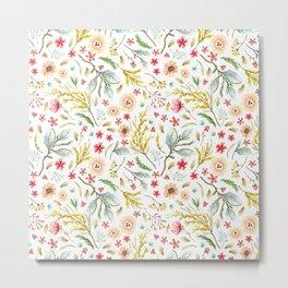 Wildflower Bunch Metal Print