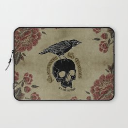 No mourners no funerals - Six of Crows Laptop Sleeve