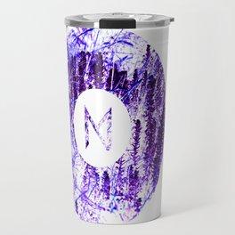 Vinyl abstract Travel Mug