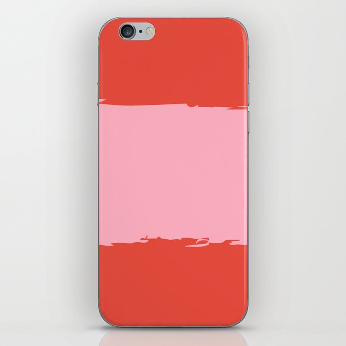 Crimson Swatch iPhone Skin