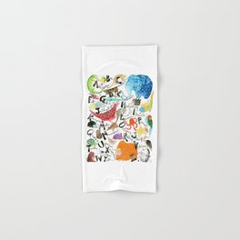 English Alphabet Hand & Bath Towel