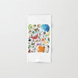 English Alphabet Hand & Bath Towel